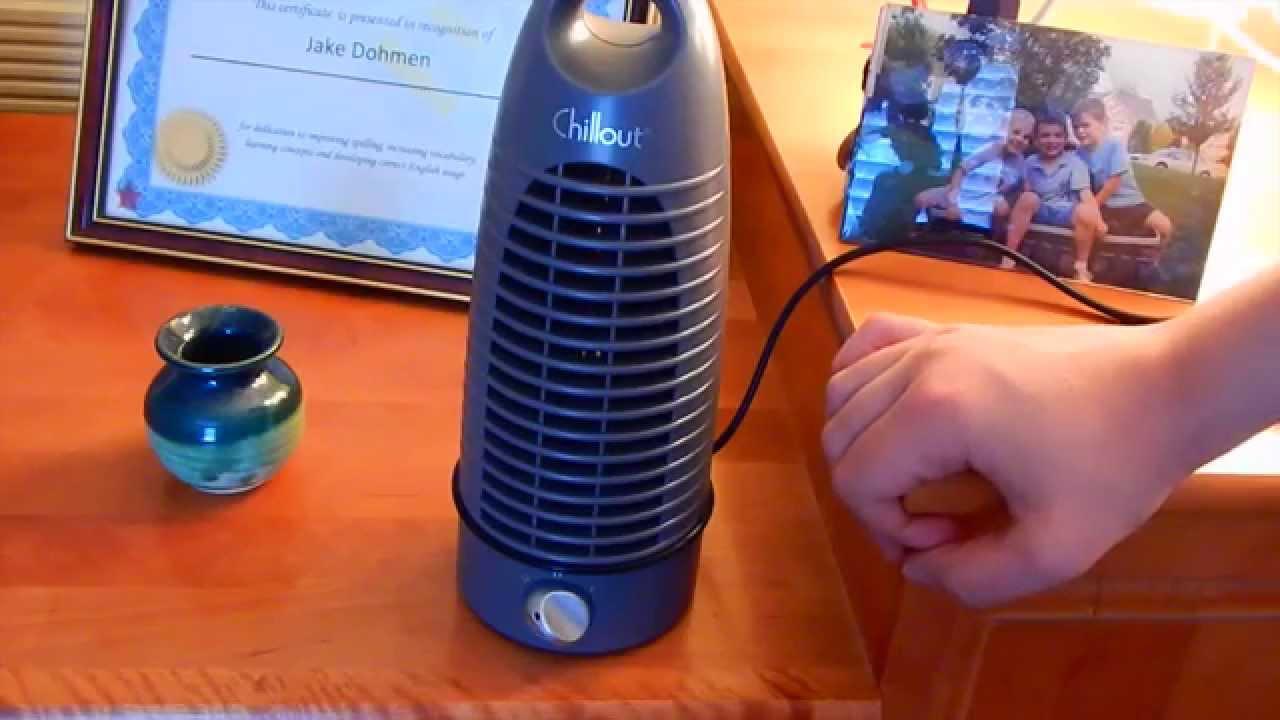 Chillout Mini Tower Desk Bullet Portable Fan Youtube