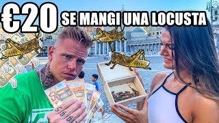 20 EURO se mangi una LOCUSTA | Se lo mangi ti pago #2