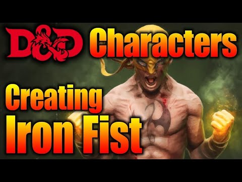 Did We Accidentally Create Iron Fist in D&D Monk Paladin Character Build