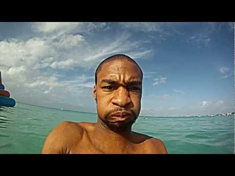 Our visit to 7 Mile Beach, Grand Cayman Island 1/ 2013 (Carnival Paradise Ship)