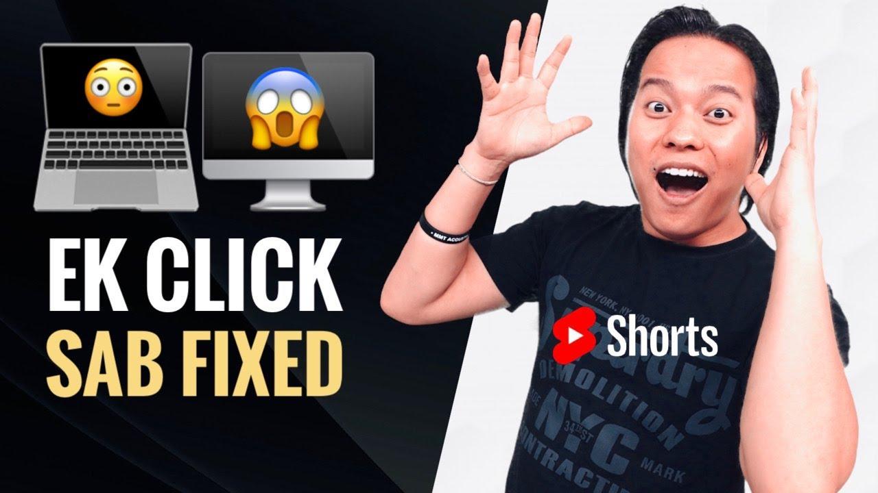 Dhasu Tip : बस एक Click और सब ठीक हो जायेगा 😱😱 #Shorts #ManojSaru #Computer