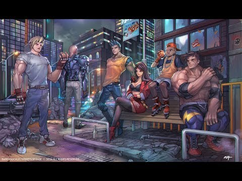 """Streets Of Rage Remake - Way Of The Warrior """"Path 1"""" - Playthrough"""