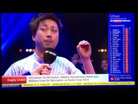 Japanese Pool Player Insane Interview SKY SPORTS
