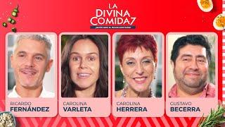 La Divina Comida - Ricardo Fernández, Carolina Varleta, Carolina Herrera y Gustavo Becerra