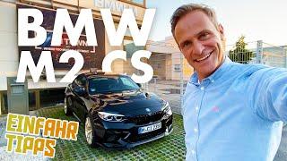 BMW M2 CS   Mein neues Baby   Abholung bei BMW M   Ich muss ihn erst einfahren!   Matthias Malmedie