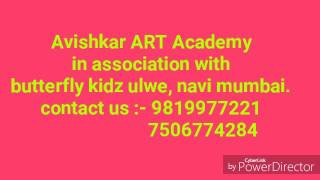 Camlin plastic crayons fine colouring by avishkar art academy student