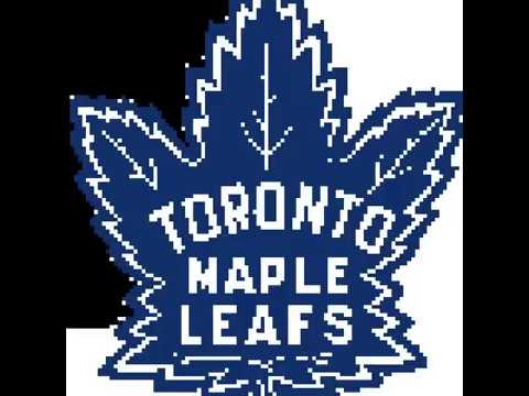 Toronto Maple Leafs Logo Pixel Art Youtube