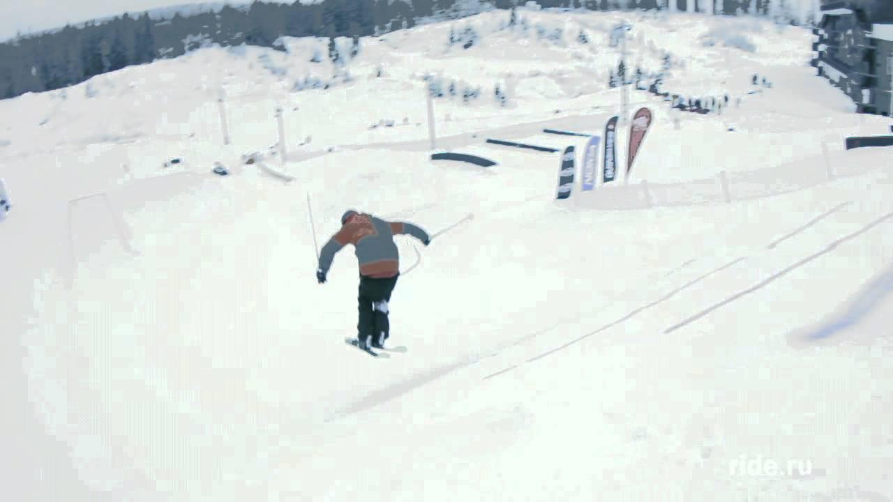 Ноуз баттер 360 на лыжах (Nose Butter 360 SKI)