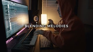BLENDING MELODIES *the right way* (making a beat fl studio tutorial)