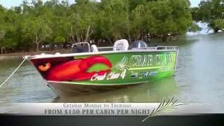 WIN: Crab Claw Island get away