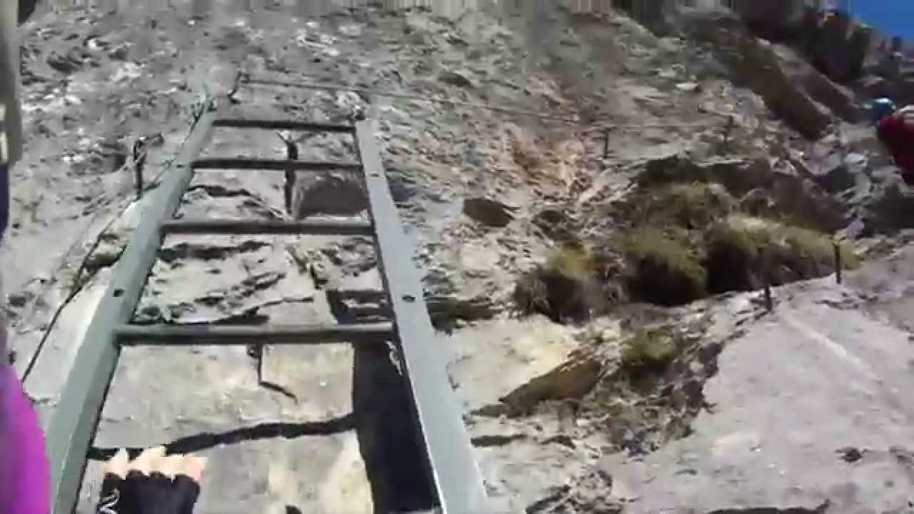 Klettersteig Tälli : Tälli klettersteig im gadmertal youtube