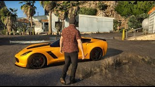 ► GTA 6 Graphics - NaturalVision ✪ Remastered - Chevrolet Corvette Z06 - Gameplay! 60 FPS
