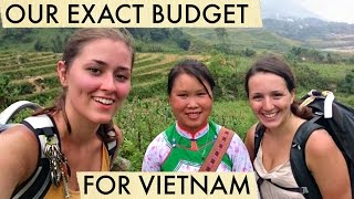 How to travel VIETNAM (exact budget/costs)?