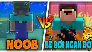 THỬ THÁCH Troll NOOB Bằng BỂ BƠI NGÀN ĐỘ Trong Minecraft!!