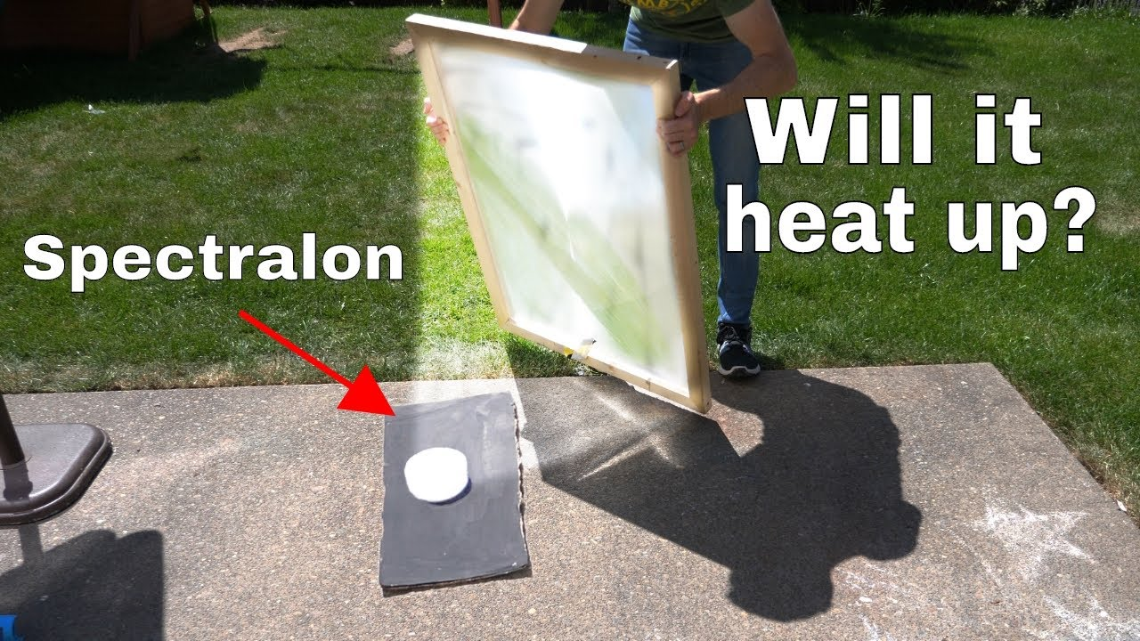 Spectralon-The World's Whitest Material vs Giant Solar Scorcher—Will it Heat Up?
