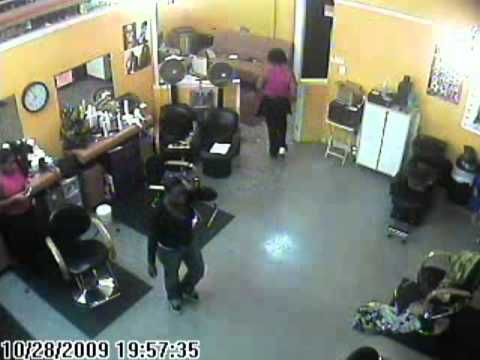 Brawl at the salon skip to 19 57 05 on the time capture for Salon brawl