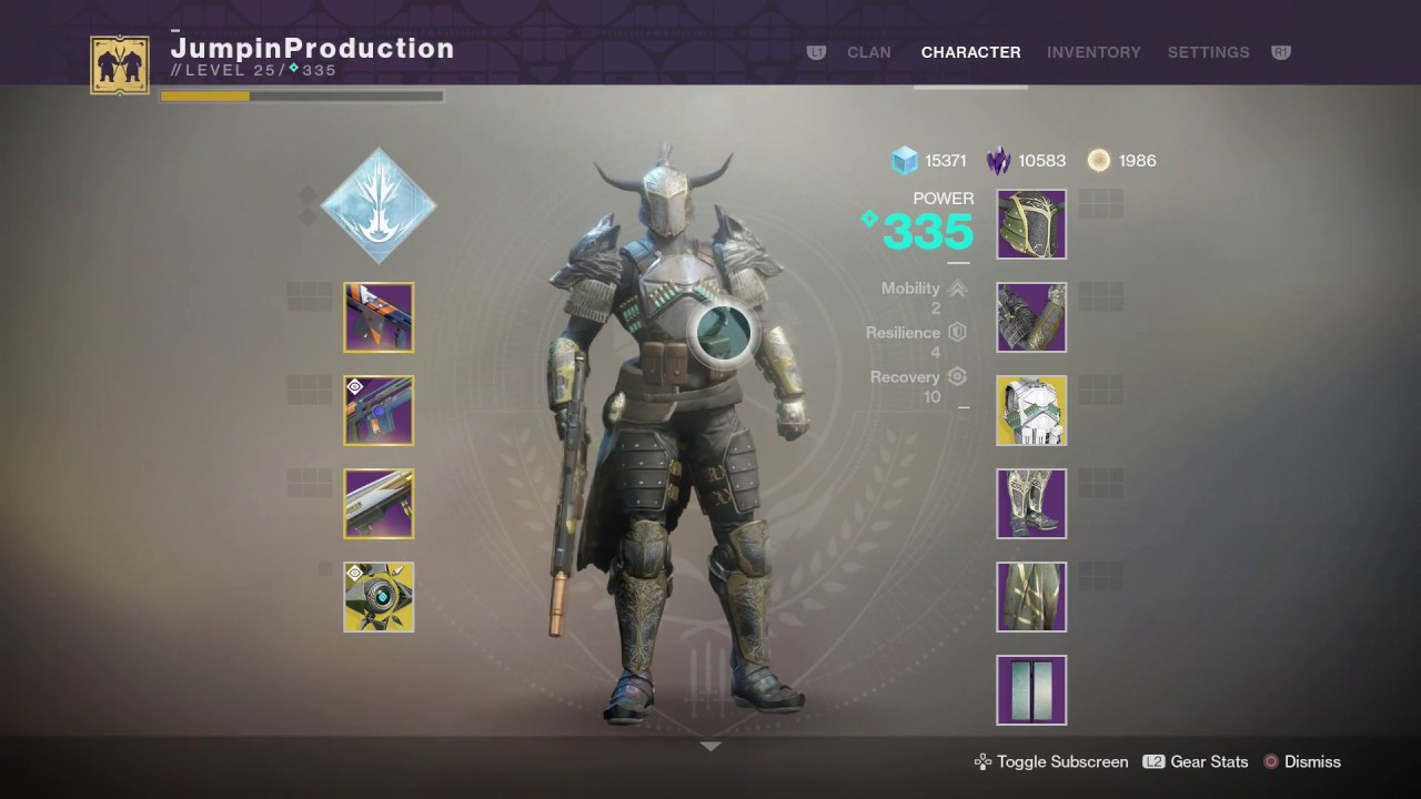 Destiny  Best Leviathan Warlock Build