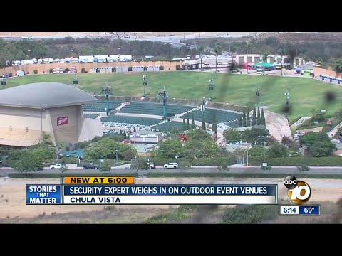 Security expert weighs in on outdoor event venues