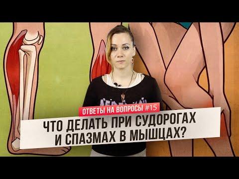 Судороги в мышцах: откуда берутся и что с ними делать? (Ответы на Вопросы)