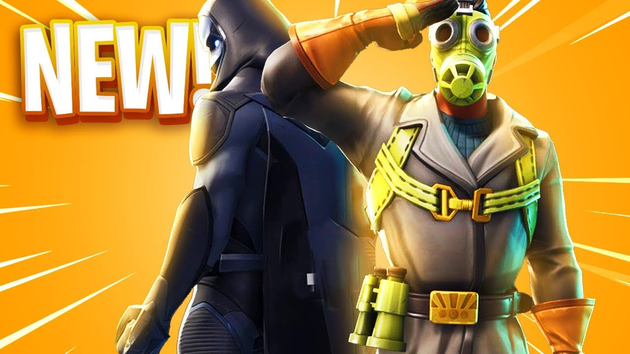 The New Skins In Fortnite