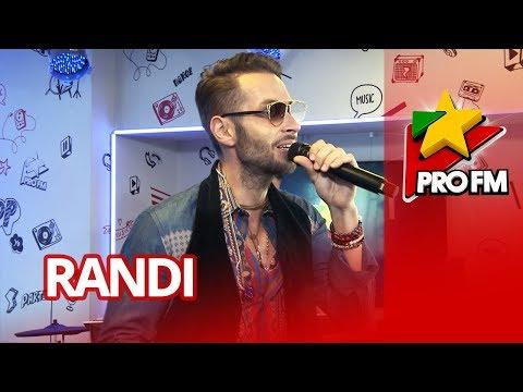 Randi - Ce te-aş mai | ProFM LIVE Session
