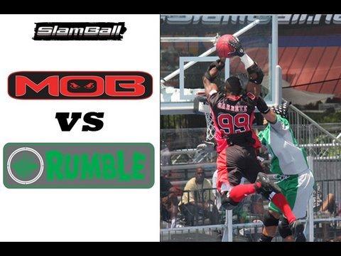 SlamBall GAME - RUMBLE/MOB