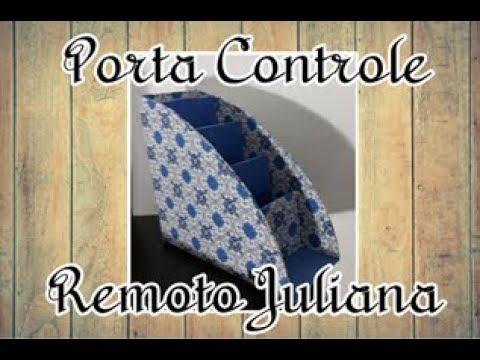 Porta Controle Juliana -  Arte em Duas