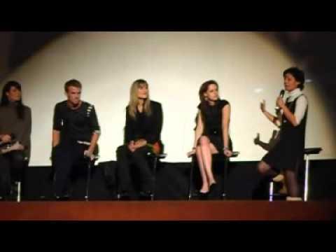 Evento Fan Crepúsculo - Madrid, 2008. Kristen Stewart, Cam Gigandet y Catherine Hardwick