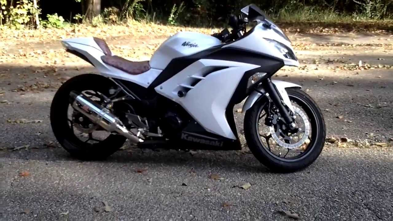 kawasaki ninja 300 custom zx3r modifications youtube