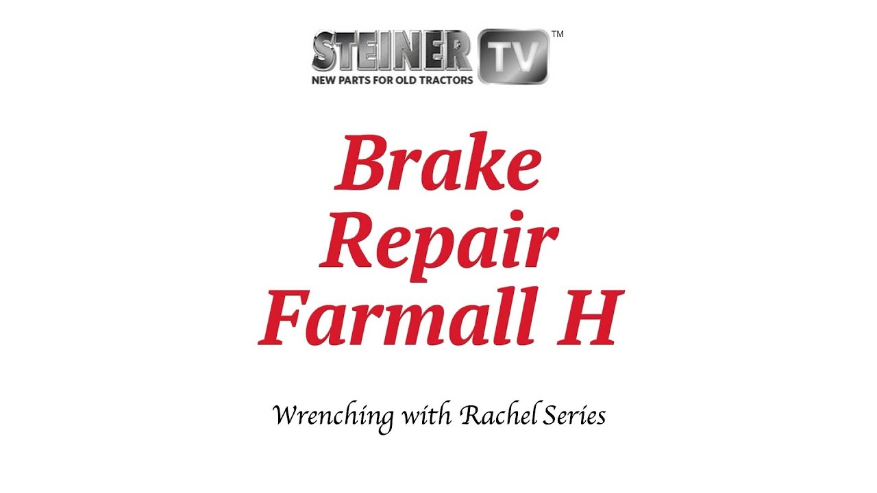 hight resolution of farmall h brake repair youtube farmall h transmission parts farmall h steering parts diagram