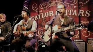 "Plain White Ts ""1, 2, 3, 4""  - NAMM 2011 with Taylor Guitars"