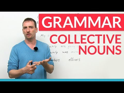 Advanced English Grammar: Collective Nouns
