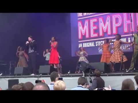 Memphis the Musical @ West End Live 2015 - Trafalgar Square London. Part 4