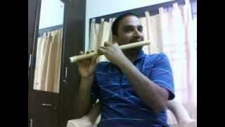 Ve vela  gopemmala Vaan pole vannam played using a flute (instrumental)