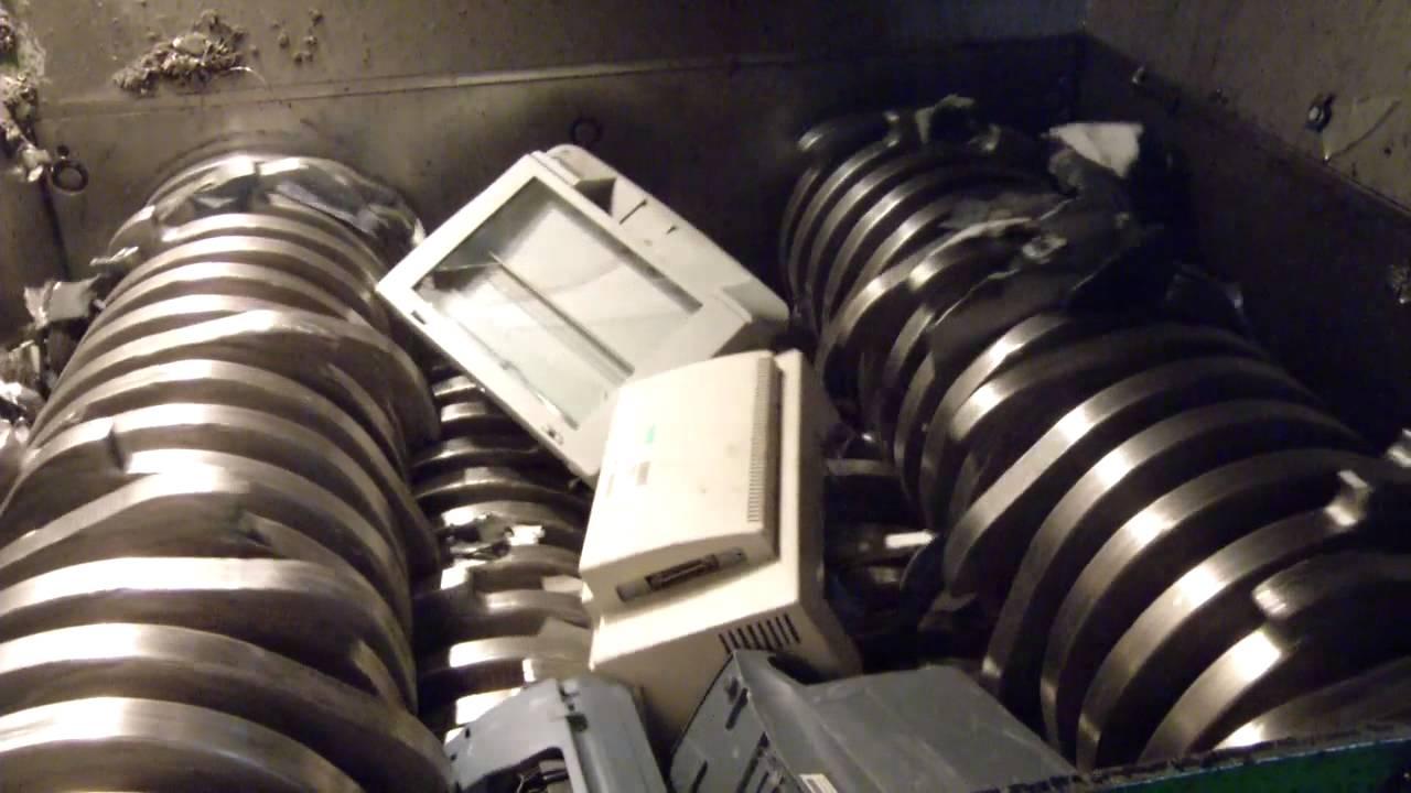 Electronics Shredder 14