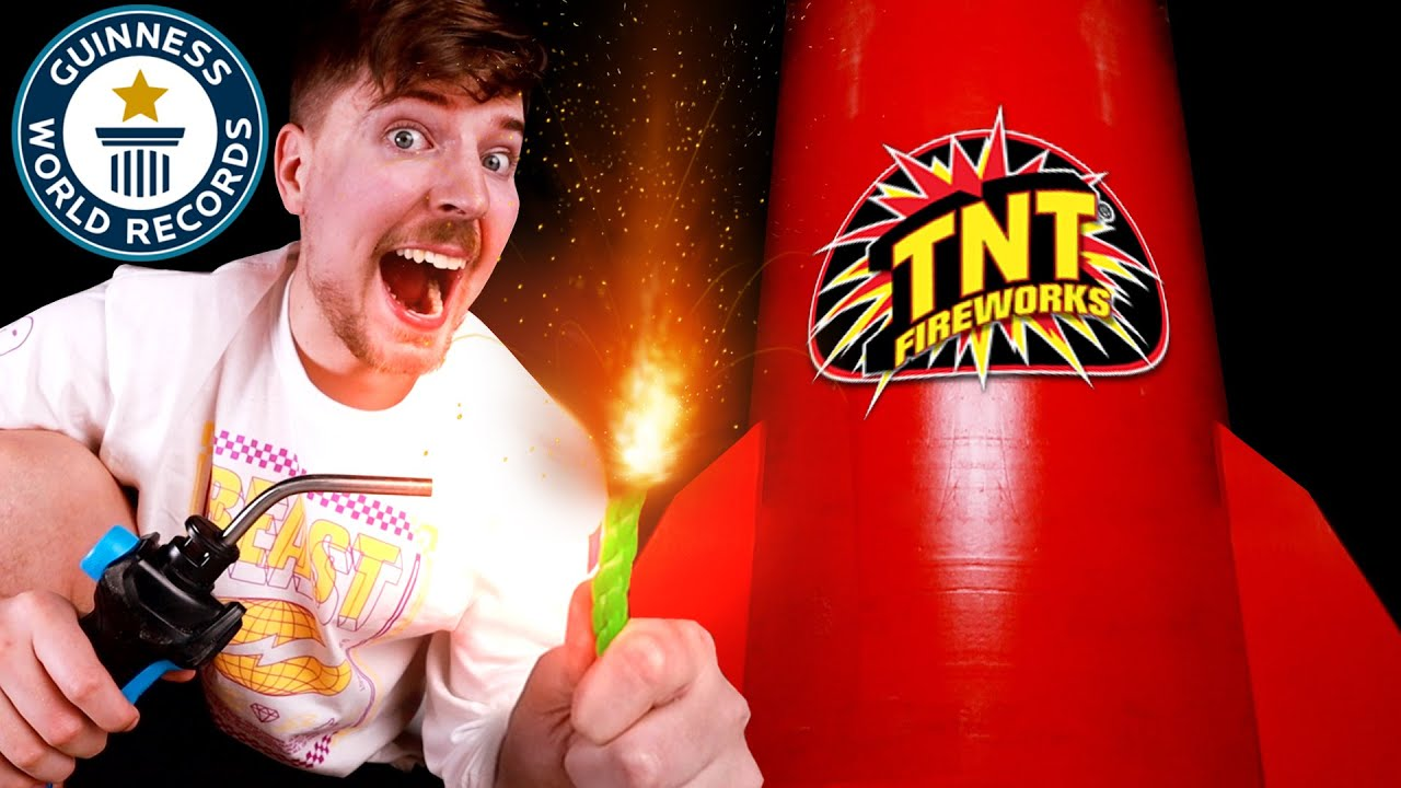 I Bought The World's Largest Firework ($600,000)