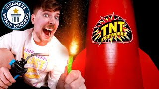I Bought The World's Largest Firework ($600,000!)