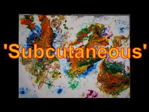 How to paint fluid art Balloon list ' Subcutaneous '  by Stuart Wimbles ~  Free Your Mind Art (2018)