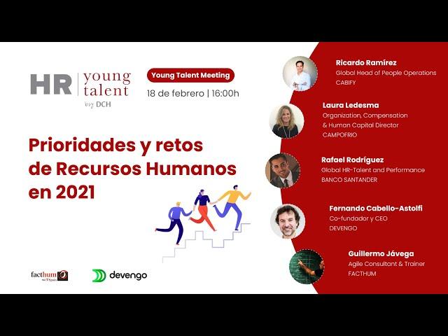 Young Talent Meeting | Prioridades y retos de Recursos Humanos en 2021