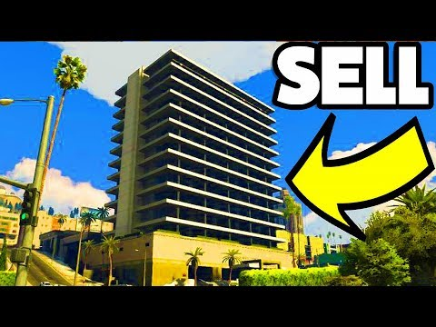 GTA 5 How To Sell Your House, Apartment, Garage - GTA 5 Online