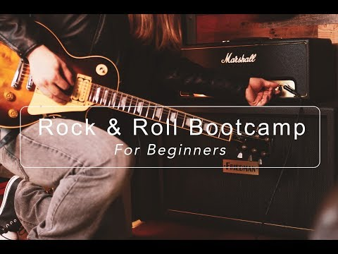 My Beginner Guitar Course  Rock & Roll Bootcamp For Beginners Is Here! ( Available One Week Only)