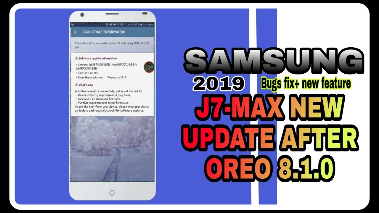 FUll Details of Samsung Galaxy j7 max New Update 2019 latest update