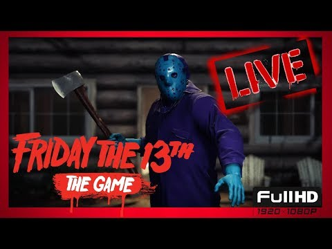 FRIDAY THE 13TH. Jason Dies!!!!! . Special guest GEORGE! Interactive streamer. 60fps 1080p FULL HD