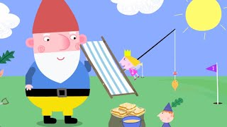 Gnome Trouble on the Golf Course | Ben and Holly's Little Kingdom | Triple Episode | Cartoons