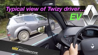 2020 | Renault Twizy POV Test + Acceleration to TOP SPEED