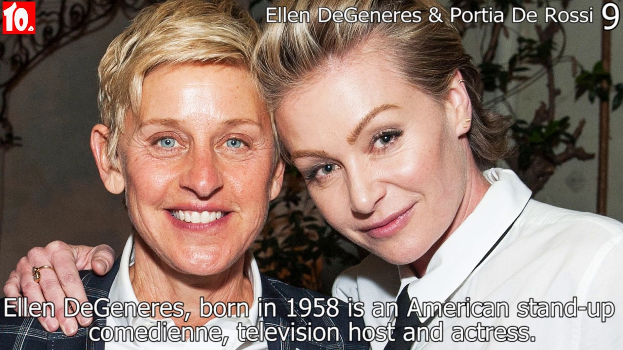 Top 10 Gay And Lesbian Celebrities And Their Relationships - Youtube-5832