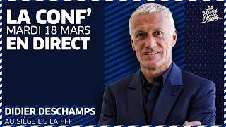 Le replay de la conférence de presse de Didier Deschamps après l'annonce de la liste