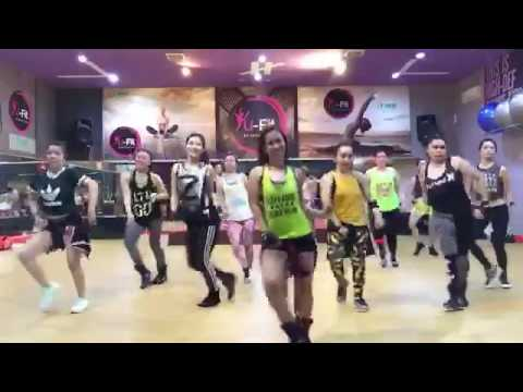Goyang pokemon zumba choreo by lely herly