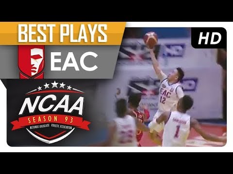 Sidney Onwubere nice bounce pass to Francis Munsayac! | EAC | Best Plays | NCAA 93 MB