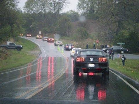 World Record Mustang Cruise Charlotte North Carolina 2 - YouTube